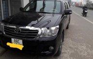 Cần bán Toyota Hilux đời 2012, màu đen giá 350 triệu tại Vĩnh Phúc