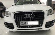 Bán Audi Q5 màu trắng xe sản xuất 2013 đăng ký 2014 tư nhân một chủ từ đầu giá 950 triệu tại Hà Nội