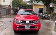 Bán Mitsubishi Triton 2.5AT sản xuất năm 2016, màu đỏ, nhập khẩu nguyên chiếc chính chủ giá 470 triệu tại Hà Nội