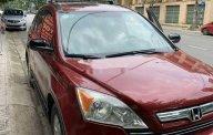 Cần bán lại xe Honda CR V AT sản xuất năm 2007, màu đỏ, xe nhập số tự động giá 395 triệu tại Hòa Bình