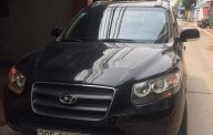 Cần bán lại xe Hyundai Santa Fe năm 2009, màu đen, nhập khẩu số sàn, giá tốt giá 370 triệu tại Hà Nội