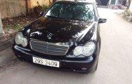 Cần bán gấp Mercedes C class năm 2003, màu đen, nhập khẩu   giá 157 triệu tại Hà Nội