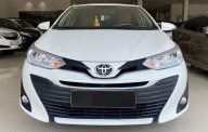 Bán xe giá ưu đãi với chiếc Toyota Vios E 1.5CVT đời 2019, màu trắng, giao xe nhanh giá 525 triệu tại Tp.HCM