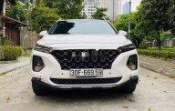 Cần bán gấp Hyundai Santa Fe sản xuất năm 2019, màu trắng giá 1 tỷ 120 tr tại Hà Nội