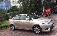 Cần bán xe Toyota Vios năm sản xuất 2015, màu vàng giá cạnh tranh giá 335 triệu tại Hà Nội