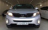 Bán xe Kia Sorento 2014, màu bạc giá cạnh tranh giá 662 triệu tại Tp.HCM