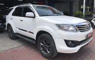 Bán nhanh chiếc xe Toyota Fortuner TRD, sản xuất 2014, màu trắng, giá cạnh tranh giá 680 triệu tại Tp.HCM