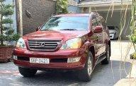 Bán Lexus GX đời 2008, màu đỏ, nhập khẩu nguyên chiếc giá 1 tỷ 200 tr tại Tp.HCM