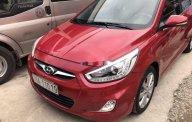 Cần bán lại xe Hyundai Accent đời 2014, màu đỏ, nhập khẩu nguyên chiếc xe gia đình giá 395 triệu tại Thanh Hóa