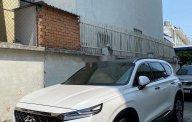 Bán Hyundai Santa Fe năm 2019, màu trắng chính chủ giá 1 tỷ 220 tr tại Tp.HCM