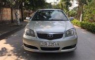 Gia đình cần bán xe Toyota Vios sản xuất 2007, màu bạc, số sàn giá 168 triệu tại Bình Dương