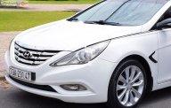 Cần bán lại xe Hyundai Sonata sản xuất năm 2010, màu trắng, nhập khẩu giá 489 triệu tại Tp.HCM