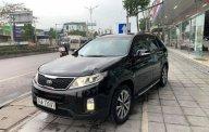 Bán xe cũ Kia Sorento GAT 2.4L 2WD đời 2014, màu đen giá 615 triệu tại Quảng Ninh