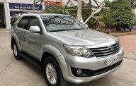 Bán Toyota Fortuner 2.7V đời 2012, màu bạc, giá tốt nhất hệ thống giá 569 triệu tại Tp.HCM