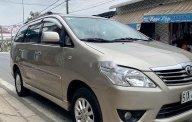 Cần bán gấp Toyota Innova năm 2012, màu vàng cát xe gia đình giá 368 triệu tại Tp.HCM