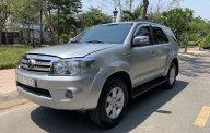 Cần bán gấp Toyota Fortuner 2.7AT sản xuất năm 2009, màu bạc chính chủ giá 418 triệu tại Tp.HCM