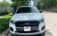 Cần bán xe Ford Ranger Wildtrak 2.0L 4x2 AT 2018, màu trắng, nhập khẩu chính hãng giá 740 triệu tại Hà Nội