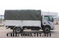 Xe tải Vinamoto Nissan1t99 thùng mui bạt dài 4m3 (Nissan Cabstar NS200) giá 465 triệu tại Bình Dương