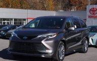 Bán xe Toyota Sienna Platinum Hybrid  2021, màu ghi xám, nhập khẩu nguyên chiếc Mỹ giá 4 tỷ 300 tr tại Hà Nội