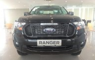 Lăn bánh xe Ranger XLS 1 cầu, số tự động, màu đen, mới giao ngay tại Hà Nam, trả thẳng giá 650 triệu tại Hà Nội