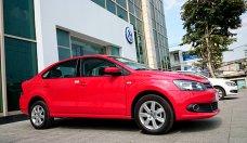 Bán Volkswagen Polo 2015 đời 2015, màu đỏ, nhập khẩu nguyên chiếc   giá 639 triệu tại Tp.HCM