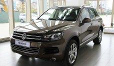 Bán ô tô Volkswagen Touareg 2015, màu xám, nhập khẩu chính hãng giá 2 tỷ 442 tr tại Tp.HCM