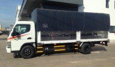 Bán xe tải Canter 8.2 thùng bạt tải trọng 4.5 tấn xe giao ngay giá 615 triệu tại Bình Dương