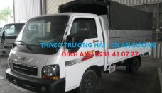 Xe tải Thaco K190 tải 1.9 tấn thùng mui bạt, màu xanh dương, đời 2017, giá ưu đãi tháng 5 giá 286 triệu tại Tp.HCM