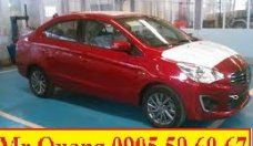 Bán Mitsubishi Attrage tại Quảng Nam, màu đỏ, nhập khẩu, LH Quang: 0905596067, hỗ trợ vay đến 80 % giá 505 triệu tại Đà Nẵng