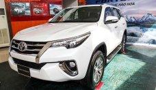 Bán Toyota Fortuner 2.7V (4x2) đời 2018 màu trắng, nhập khẩu nguyên chiếc giá 1 tỷ 140 tr tại Tp.HCM