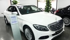 Bán Mercedes C250 2016 màu trắng chạy lướt giá 1 tỷ 470 tr tại Hà Nội