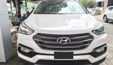 Bán Hyundai Santa Fe 2018, màu trắng giá 1 tỷ 260 tr tại Tp.HCM