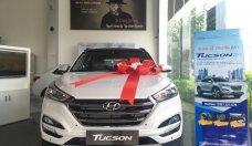 Bán Hyundai Tucson sản xuất 2018, màu trắng giá 815 triệu tại Tp.HCM