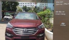 Bán ô tô Hyundai Santa Fe sản xuất 2018, màu đỏ giá 1 tỷ 190 tr tại Tp.HCM