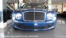 Giá xe Bentley Mulsanne Speed 2017, màu xanh lam, nhập khẩu giá 24 tỷ tại Hà Nội