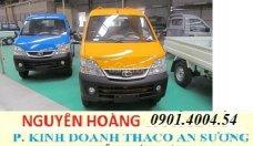 Bán Thaco TOWNER 990 năm 2017, màu vàng, nhập khẩu giá 219 triệu tại Tp.HCM