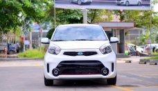 Cần bán Kia Morning Si 2018, màu trắng, xe có sẵn giao ngay trông 2 ngày. Liên hệ 0932333552 (Hữu) giá 345 triệu tại Tp.HCM