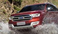 Cần bán Ford Everest Titanium đời 2018, màu đỏ, nhập khẩu Thái Lan giá 1 tỷ 200 tr tại Tp.HCM