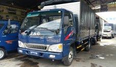 Bán xe tải JAC 4T9 thùng mui bạt, mui kín giá rẻ, trả góp lãi suất thấp giá 385 triệu tại Tp.HCM