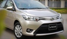 Bán ô tô Toyota Vios 1.5 E năm 2018, màu vàng giá 490 triệu tại Hải Dương