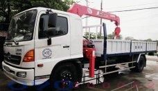 Bán xe tải cẩu Hino FC9JLSW 6.4 tấn, gắn cẩu Unic UR-V 500 5 tấn 4 giá 795 triệu tại Tp.HCM