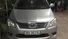 Chính chủ bán xe Toyota Innova đời 2013, màu bạc giá 500 triệu tại Nghệ An