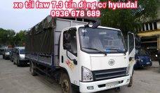 Xe tải Faw 7,3 tấn động cơ Hyundai chính hãng, thùng dài 6m25, đời mới nhất, giá rẻ nhất giá 540 triệu tại Hà Nội