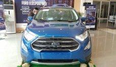 Bán Ford Ecosport Titanium 1.0 Ecboost 2018, màu xanh, hỗ trợ trả góp 90% giá 689 triệu tại Hà Nội