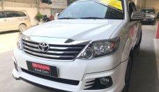 Cần bán xe Toyota Fortuner TRD V 4X2 năm sản xuất 2015, màu trắng, hỗ trợ giá tốt giá 923 triệu tại Tp.HCM