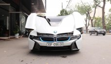 Bán BMW i8 bản full 2015, màu trắng, nhập khẩu giá 3 tỷ 800 tr tại Hà Nội