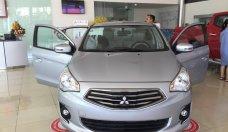 Bán Mitsubishi Attrage năm 2018, màu bạc, nhập khẩu chính hãng, cho góp đến 80% giá 375 triệu tại Quảng Nam
