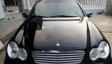 Cần bán Mercedes-Benz C200, 2.0 AT turbo đăng ký 2002, màu đen xe gia đình, giá 185tr giá 185 triệu tại Quảng Ngãi