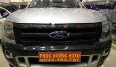 Cần bán xe Ford Ranger Wildtrak 3.2L 4x4 AT sản xuất năm 2014, màu bạc, nhập khẩu xe gia đình, giá chỉ 630 triệu giá 630 triệu tại Đắk Lắk