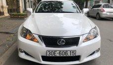 Bán Lexus IS is250c sản xuất 2009, màu trắng, xe nhập giá 1 tỷ 160 tr tại Hà Nội